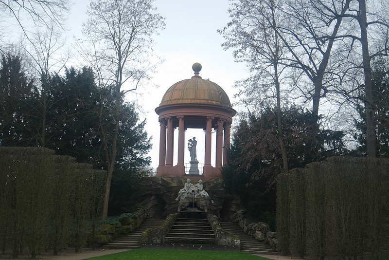 Templo de Apolo, ruta por la Romántica Alemania