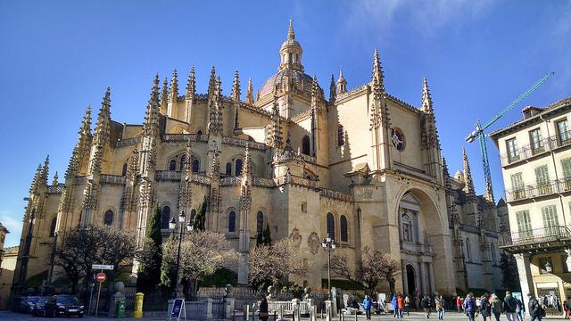 Catedral de Segovia,leyendas de Segovia