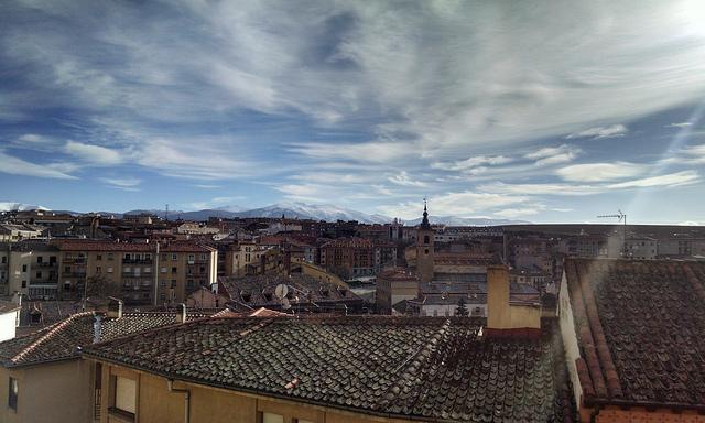 La Mujer Muerta desde Segovia