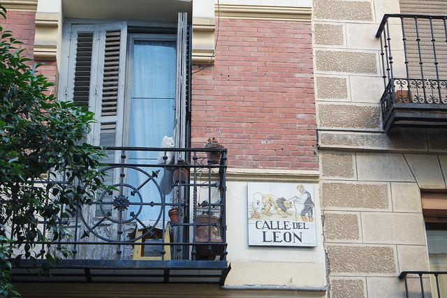 Calle del León, Madrid