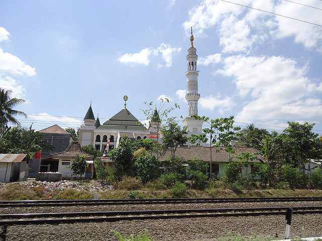 Mezquita en Yogyakarta