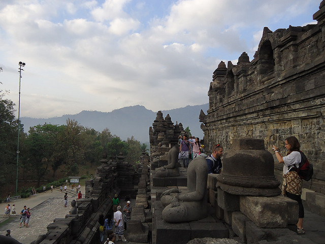 Templo de Borobudur, Java