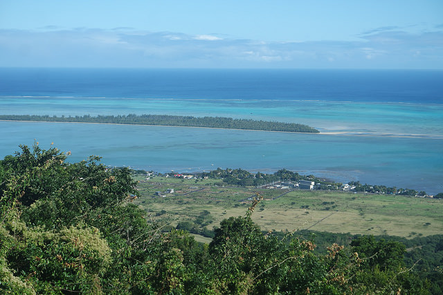 Colores del mar en Mauricio