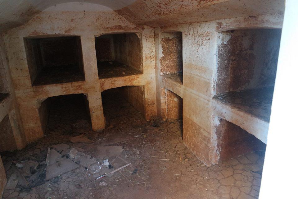 Cripta, El Cortijo del Fraile
