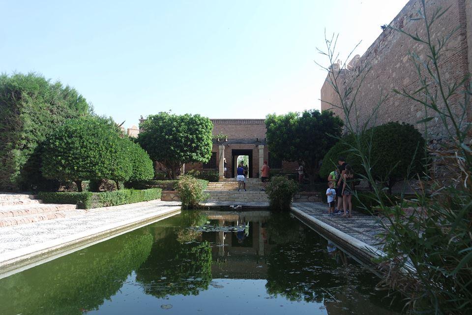 Estanque de la Alcazaba de Almería