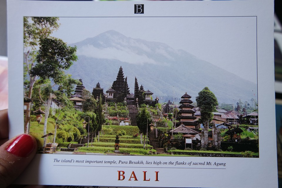 Postal desde Bali