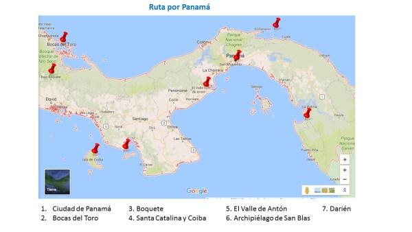 Ruta por Panamá