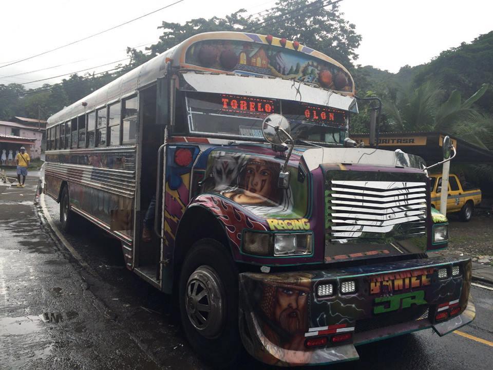 Autobús de Portobelo
