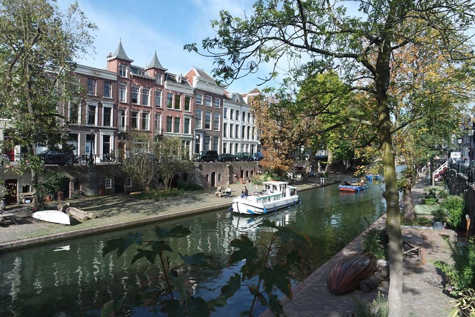 Crucero por los canales de Utrecht