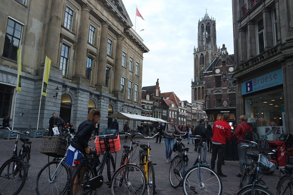 La vida de Utrecht, Holanda