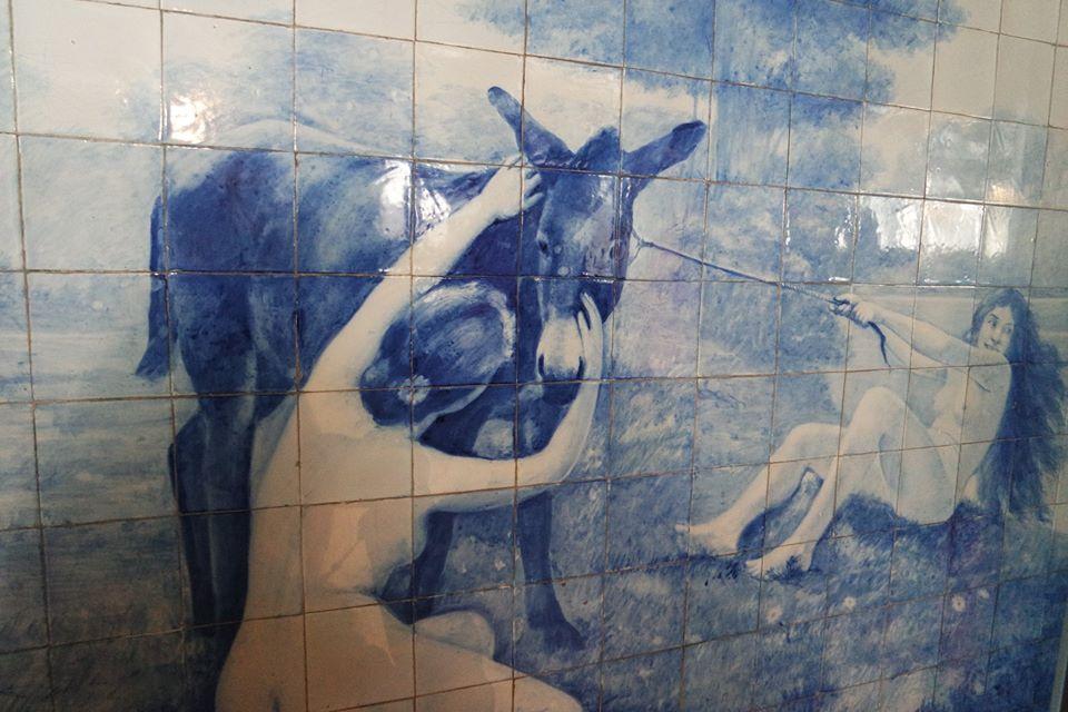 Azulejos de las bodegas Ramos Pinto