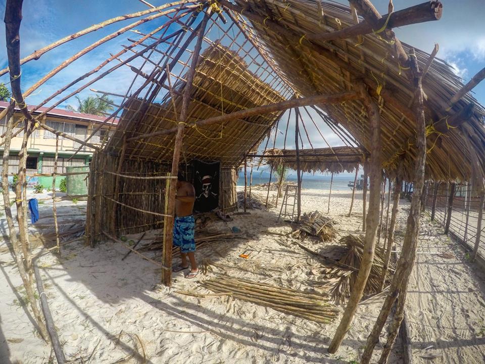 Casa para los artistas locales, Nalunega, San Blas