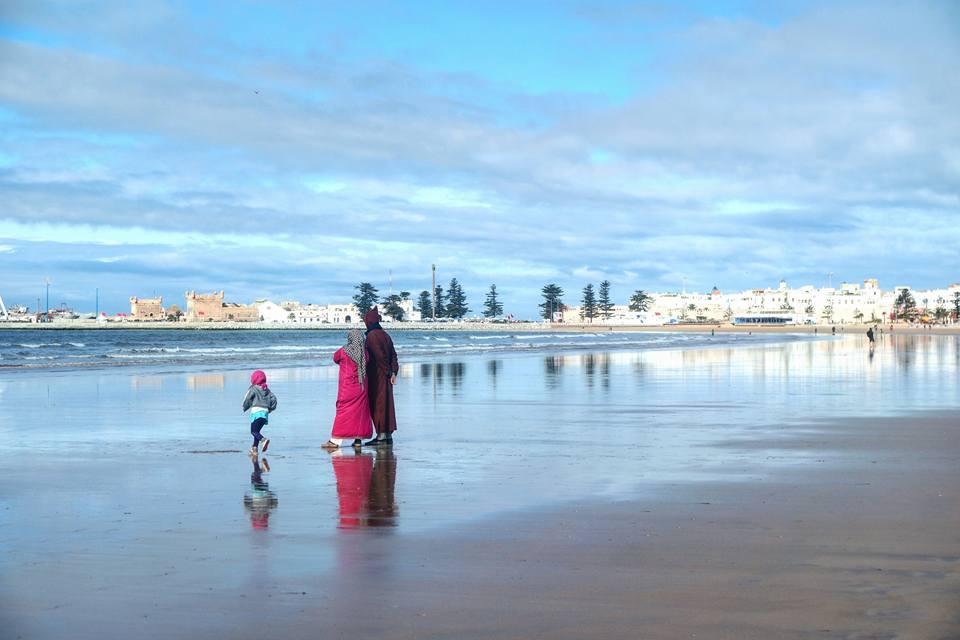 Playa urbana de Essaouira, qué ver en Essaouira