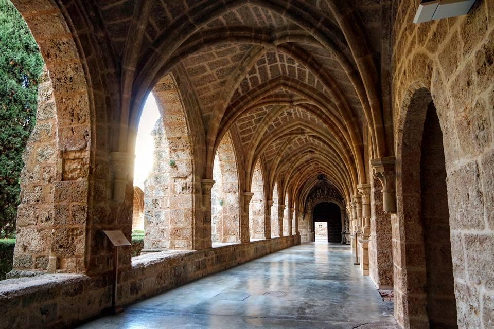 Monasterio de Piedra, claustro