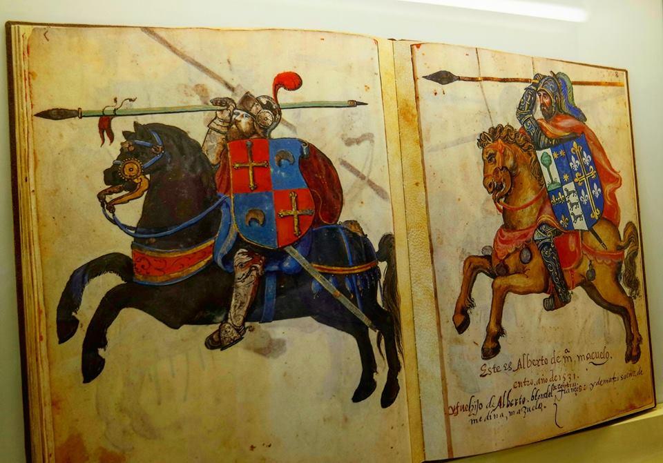 Biblioteca, castillo Templario de Ponferrada