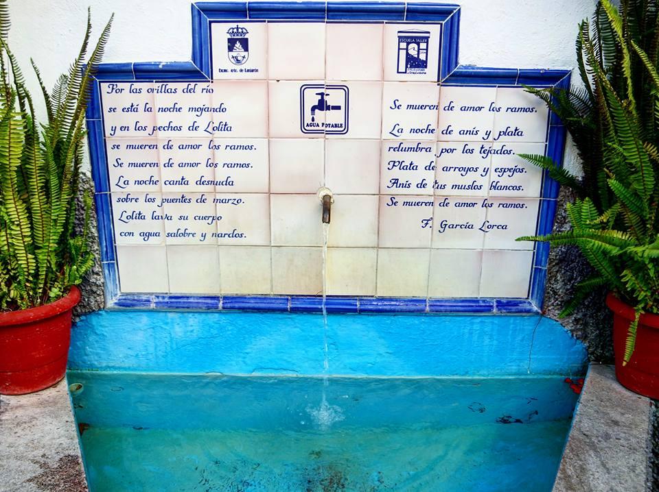 Pilar de agua, qué ver en Lanjarón