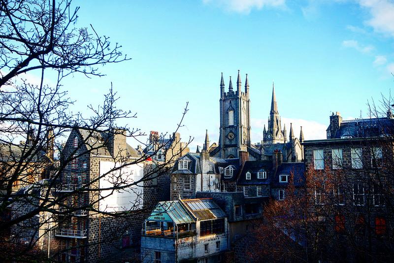 Aberdeen, la ciudad de Granito
