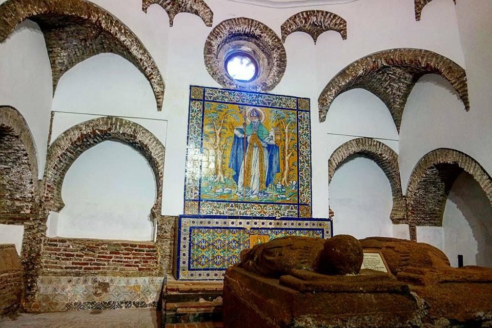 Capilla de enteramiento de los maeses, monasterio de Tentudía