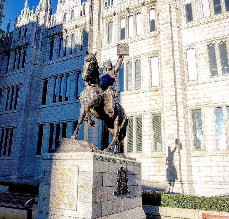 Robert the Bruce, qué ver en Aberdeen