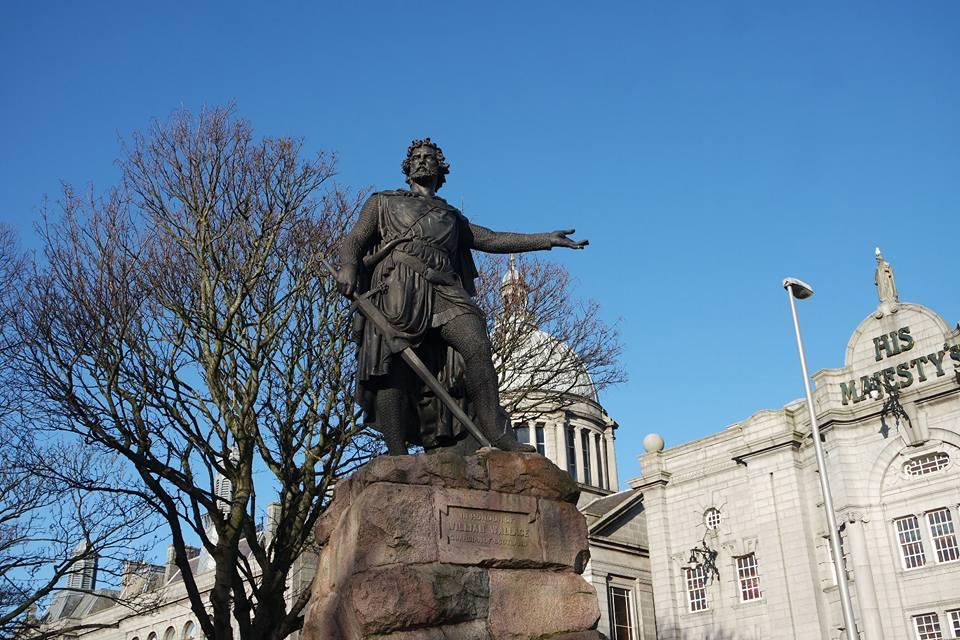 William Wallace, qué ver en Aberdeen