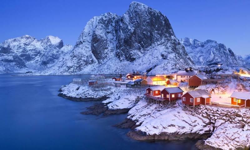 Islas Lofoten, Laponia Noruega