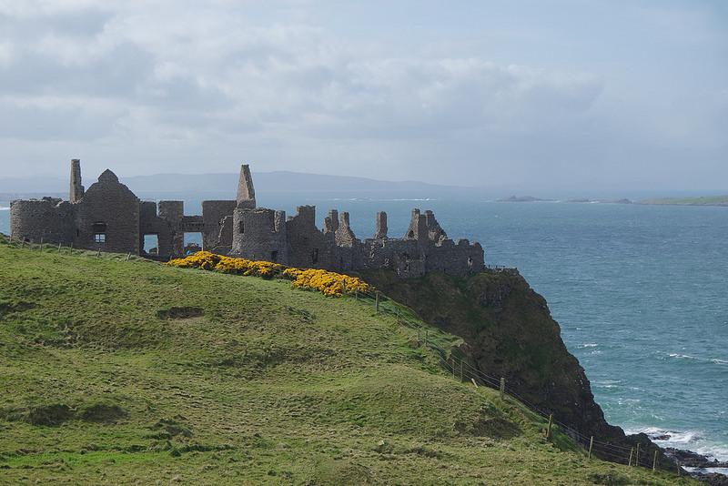 Castillo de Dunluce, Juego de Tronos