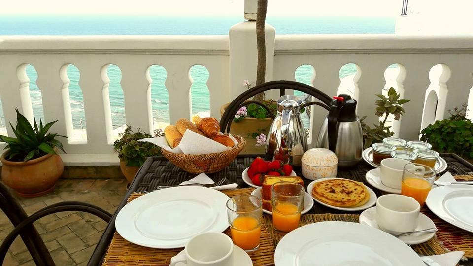 Desayuno en riad La Tangerina, Tánger