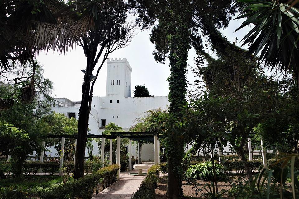 Jardines del museo de la kasbag, qué ver en Tánger