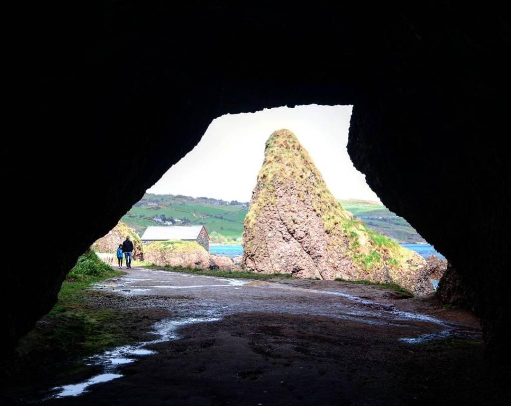 La cueva de Melissandre, Juego de Tronos en Irlanda del norte