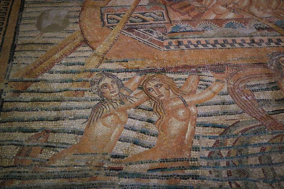 Mosaico romano, museo de la Kasbah, qué ver en Tánger