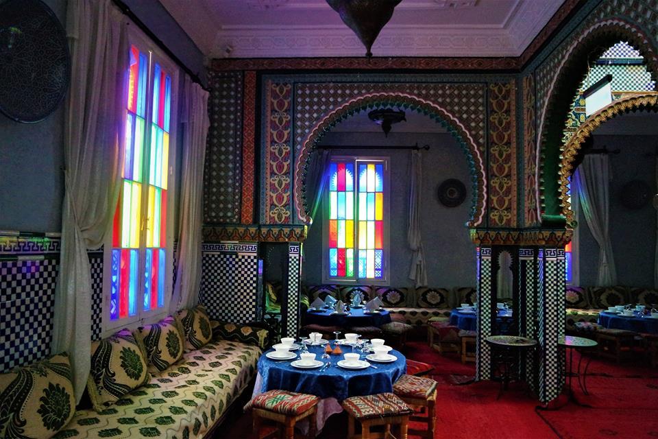 Palacio Marhaba, restaurantes en Tánger