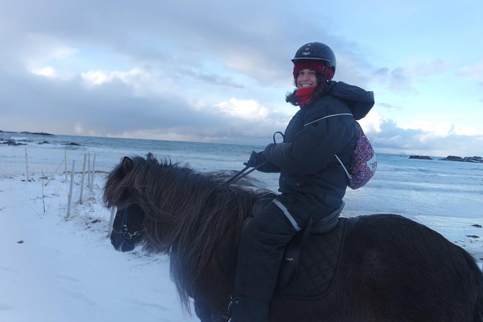 Paseo a caballo en Lofoten