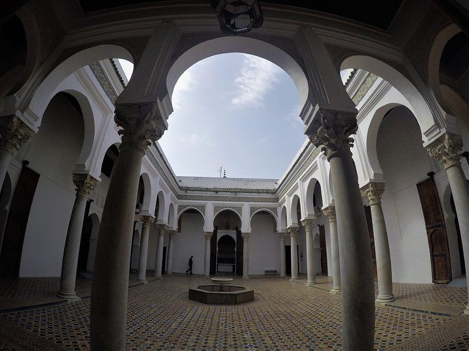 Patio, museo de la kasbah, qué ver en Tánger