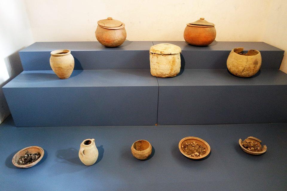 Restos arqueológicos, museo de la Kasbah, Tánger