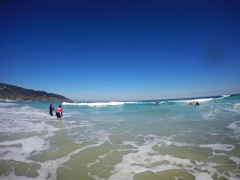Art surf camp, Galicia