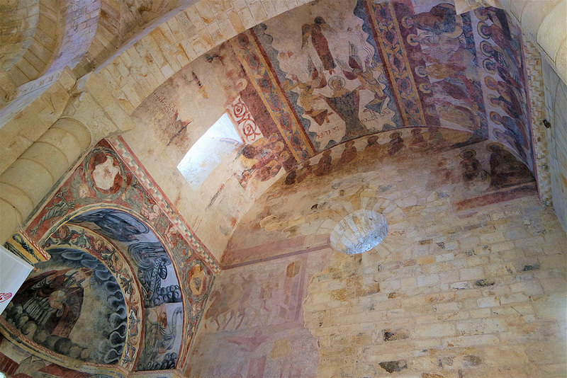 Frescos de San Martiño