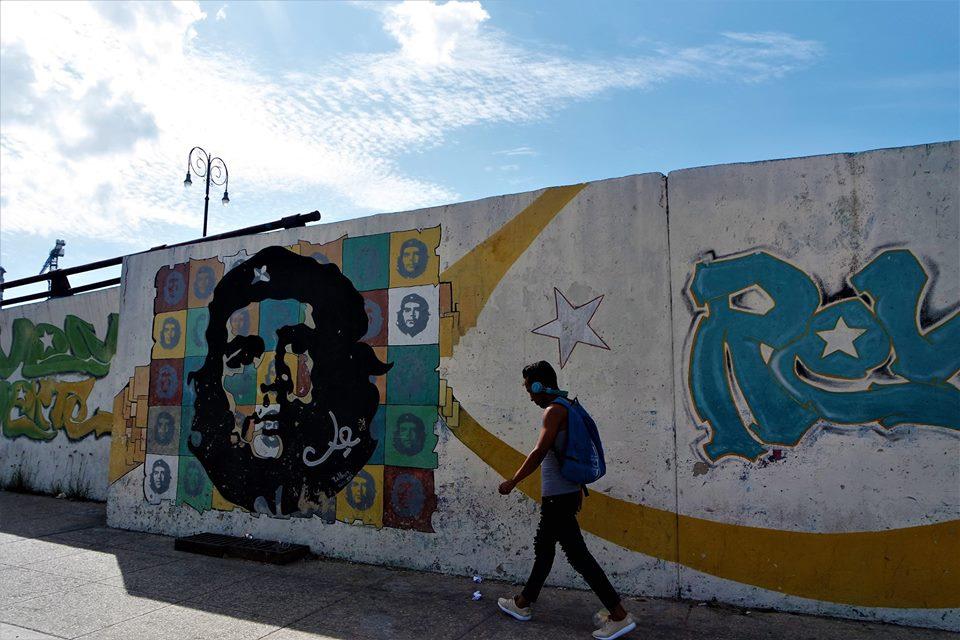 Mural de El Ché, La Habana