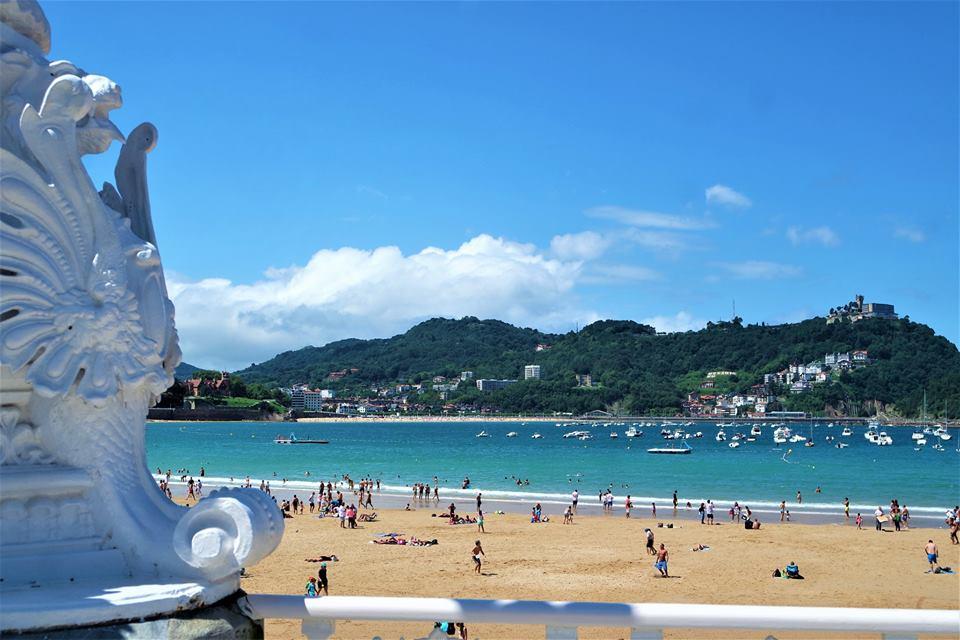 Playa de La Concha, qué ver en San Sebastián,