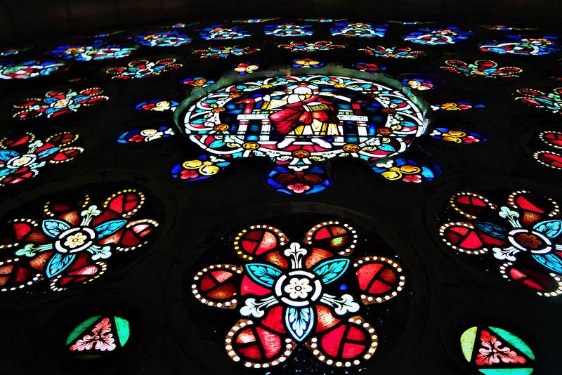 Rosetón, catedral de Mondoñedo