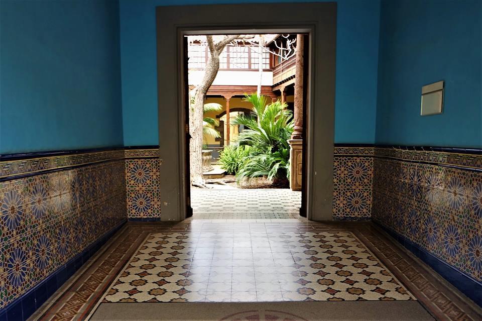 Entrada a la Casa de los Capitanes, qué ver en La Laguna
