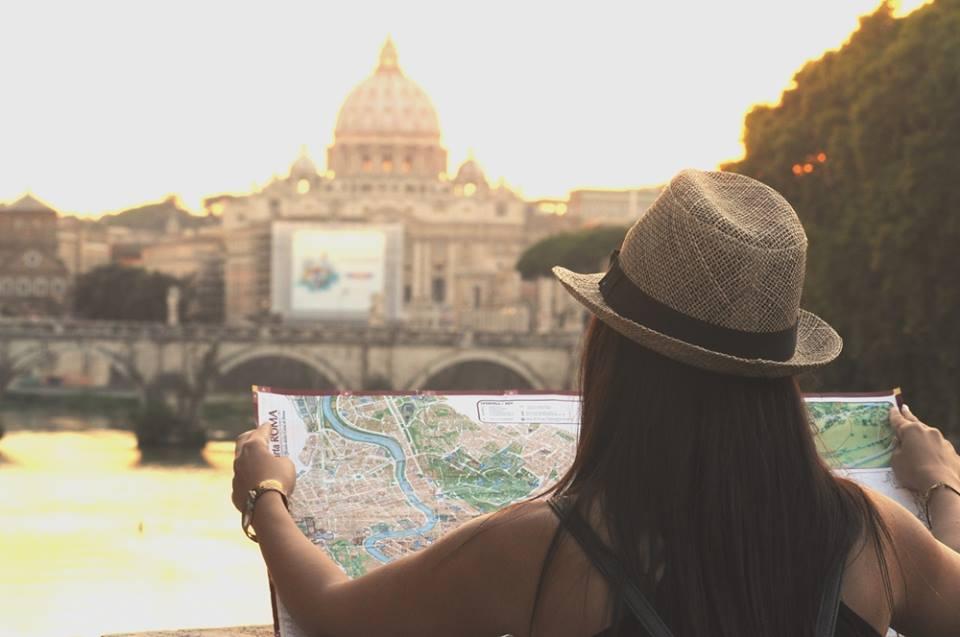 Equipaje para viajar a Roma en verano