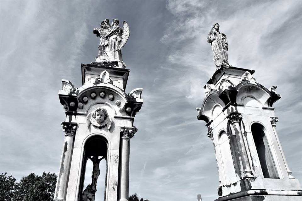 Mausoleos del cementerio de La Carriona