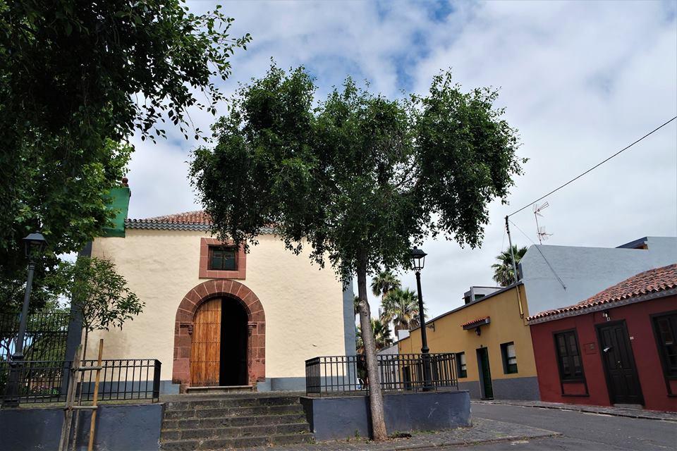 San Benito, junto a esta iglesia se encontraba mi estudio en La Laguna