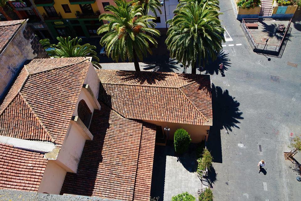 Tejados de La Laguna desde la iglesia de la Concepción