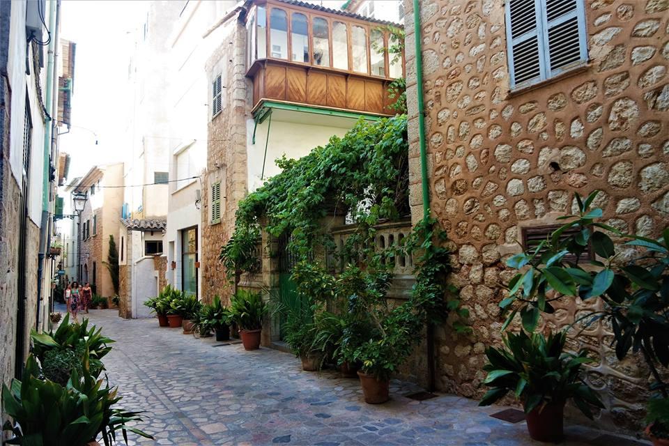 Calles de Sóller, Mallorca