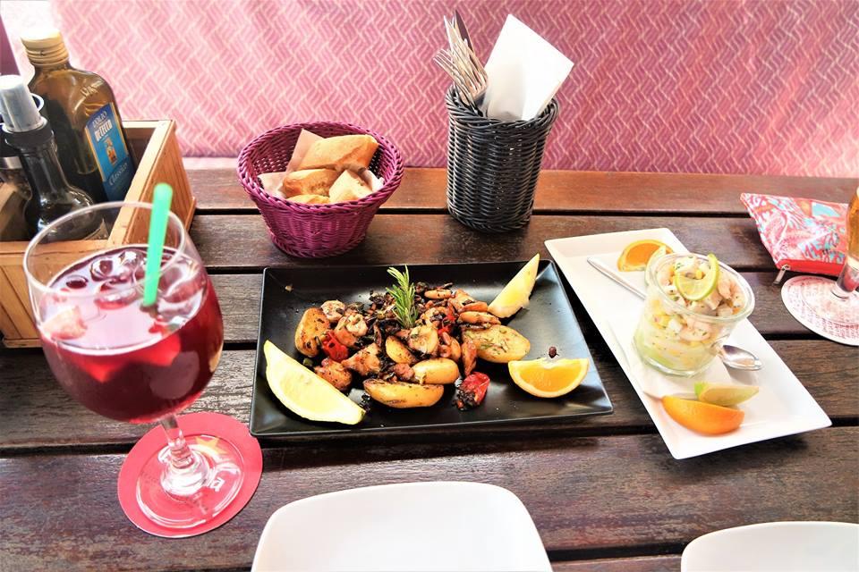 Ceviche y pulpo en El Sol, dónde comer en Mallorca