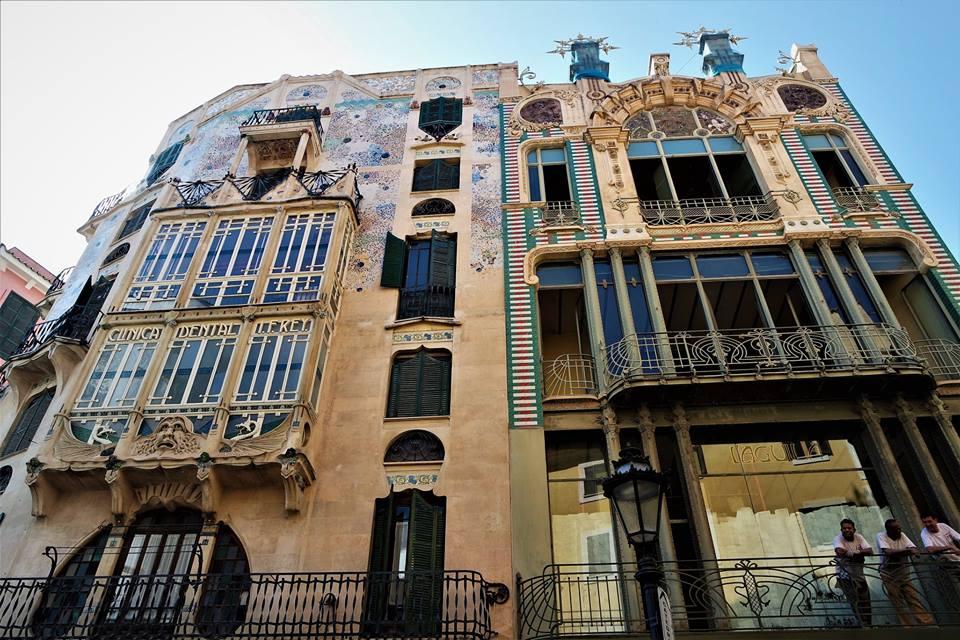 Edificios modernistas, Palma de Mallorca