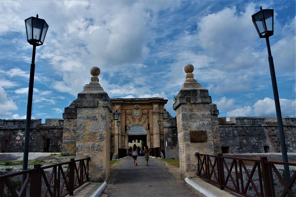 Entrada a la Fortaleza de San Carlos, La Habana