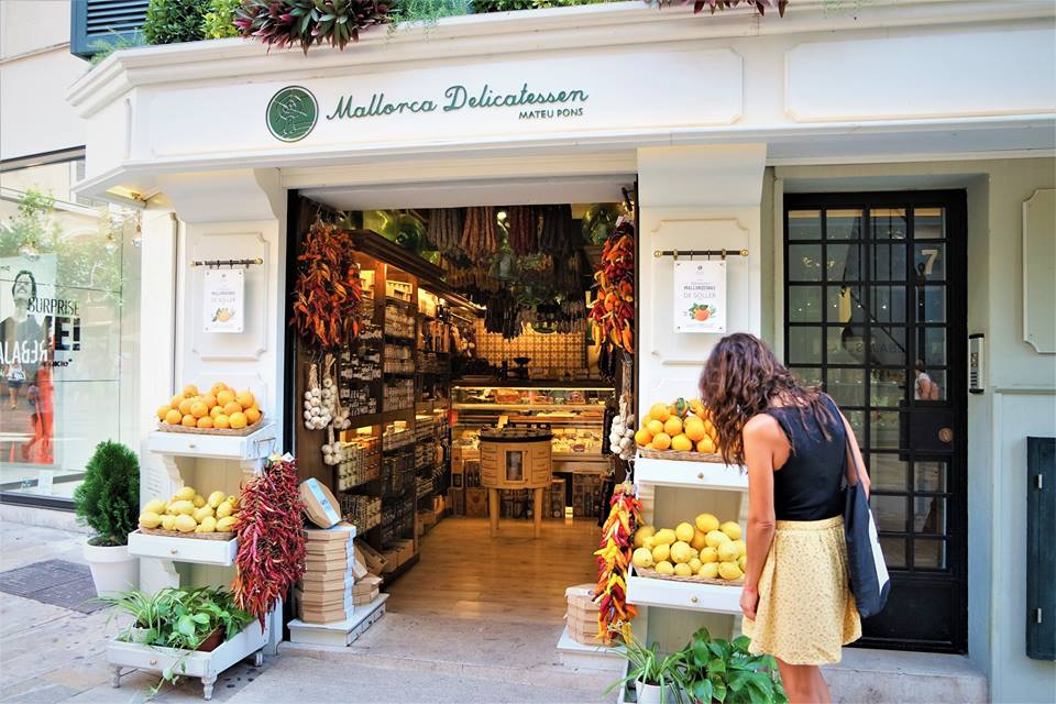 Tienda de comestibles en Palma de Mallorca