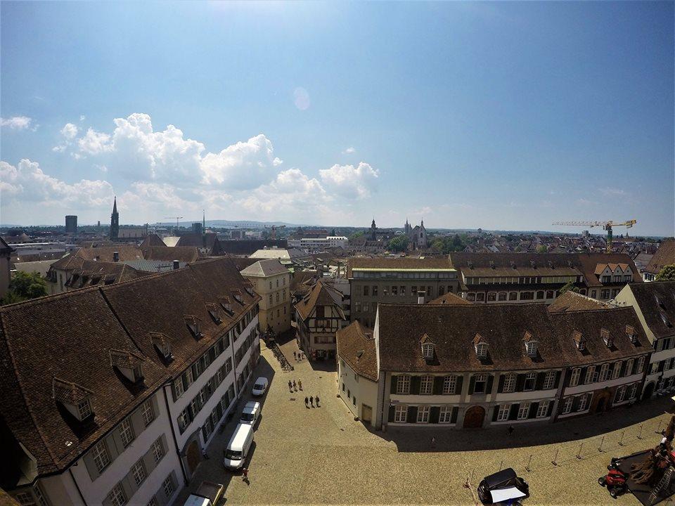 Vistas de Basilea desde la catedral